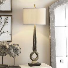 Uttermost Jandari Golden Bronze Lamp