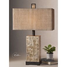 Uttermost Rustic Mother Of Pearl Table Lamp