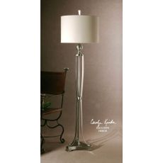 Uttermost Tristana Nickel Floor Lamp