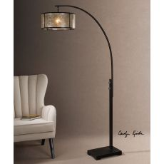 Uttermost Cairano Drum Shade Floor Lamp