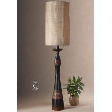 Uttermost Dafina Aged Black Buffet Lamp