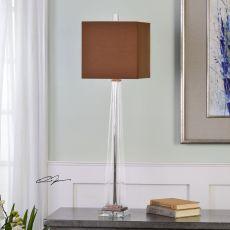 Uttermost Rivanna Clear Glass Buffet Lamp
