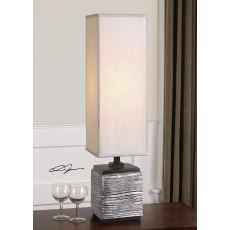 Uttermost Ciriaco Antiqued Silver Buffet Lamp