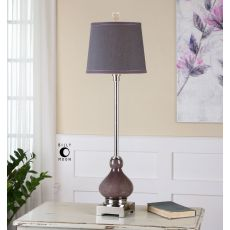 Uttermost Charoite Deep Purple Buffet Lamp