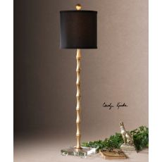 Uttermost Quindici Metal Bamboo Buffet Lamp