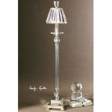 Uttermost Kalena Silver Crystal Buffet Lamp