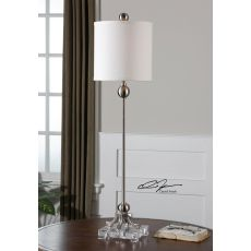 Uttermost Bellamy Nickel Buffet Lamp