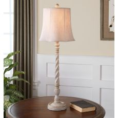 Uttermost Arcevia Aged Ivory Buffet Lamp