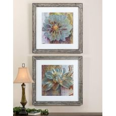 Uttermost Sublime Truth Floral Art, Set/2