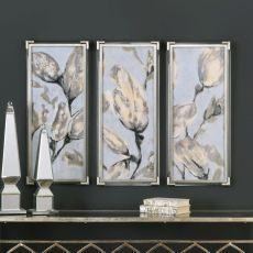 Flower Bud Triptych - S/3