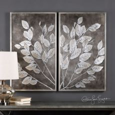 Uttermost Money Tree Framed Art S/2