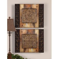 Uttermost Ornamentational Block Art Set/2
