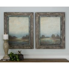 Uttermost Morning Vistas Framed Art, S/2