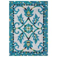 Liora Manne Visions IV Palazzo Indoor/Outdoor Rug Blue 24 in. x 36 in.