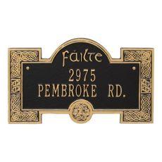 Failte Plaque, Green Gold
