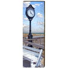Bethany Beach Clock Wood Wall Art