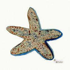 Starfish Coaster Set Of 4