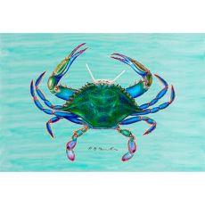 Female Blue Crab Door Mat 30x50