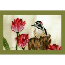 Woodpecker Door Mat 18X26