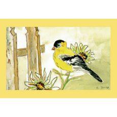 Goldfinch Door Mat 18X26
