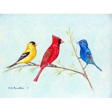 Three Birds Door Mat 18X26