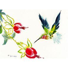 Betsy'S Hummingbird Door Mat 30X50