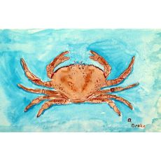 Red Crab Door Mat 18X26