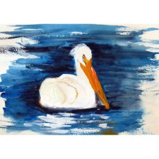 Spring Creek Pelican Door Mat 18X26