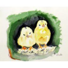 Chicks Door Mat 18X26