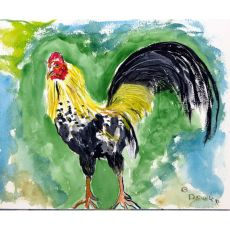 Bantam Rooster Door Mat 18X26