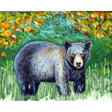 Black Bear Door Mat 18X26