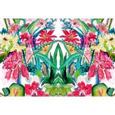 Multi Florals Door Mat 18X26