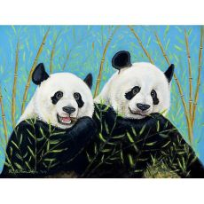 Pandas Door Mat 18X26