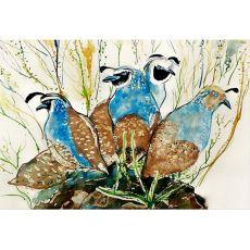 Partridges Door Mat 18X26