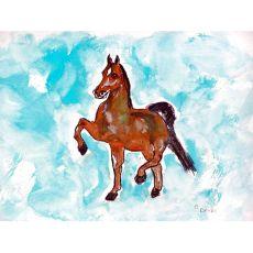 Dancing Horse Door Mat 18X26