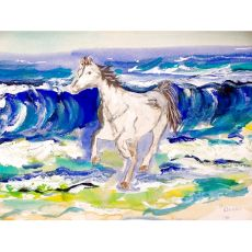 Horse & Surf Door Mat 30X50