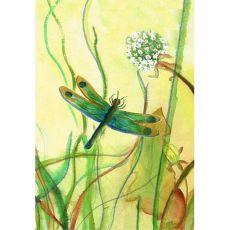Betsy'S Dragonfly Flag 12.5X18