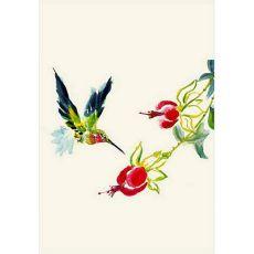 Betsy'S Hummingbird Flag 12.5X18