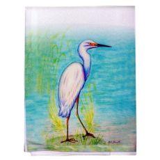 Snowy Egret Guest Towel