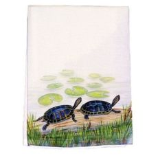 Two Turtles Guest Towel