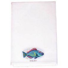 Parrot Fish Guest Towel
