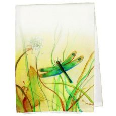 Betsys Dragonfly Guest Towel
