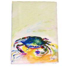 Green Crab Guest Towel