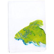 Green Fish Guest Towel