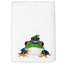 Stacked Frogs Guest Towel