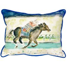 Derby Winner Large Indoor/Outdoor Pillow 16X20