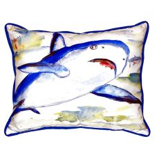 Shark Large Indoor/Outdoor Pillow 16X20