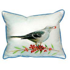 Mockingbird & Berries Large Indoor/Outdoor Pillow 16X20