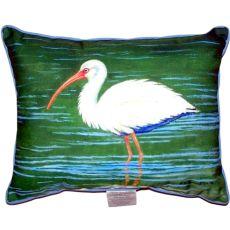 Dick'S White Ibis Large Indoor/Outdoor Pillow 16X20
