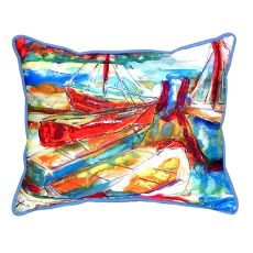 Betsy'S Marina Large Indoor/Outdoor Pillow 16X20